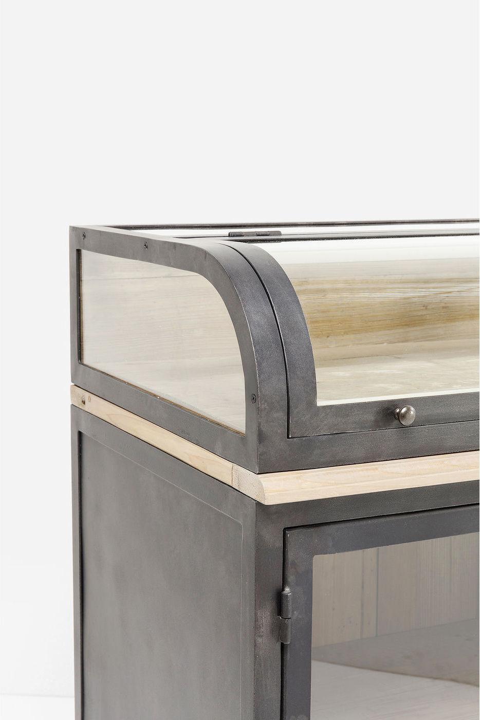 Kare Design Dressoir Huckster - 2-deurs - Hout - Metaal