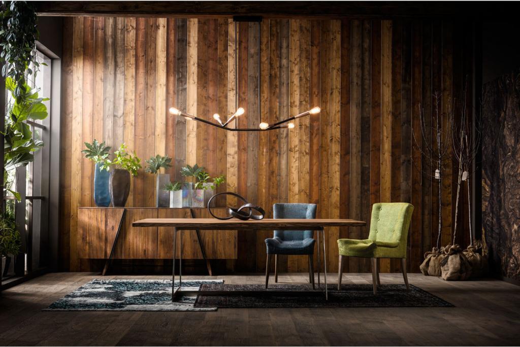 Kare Design Dressoir Madrid - Eikenhout - 86 X 200 X 46 Cm