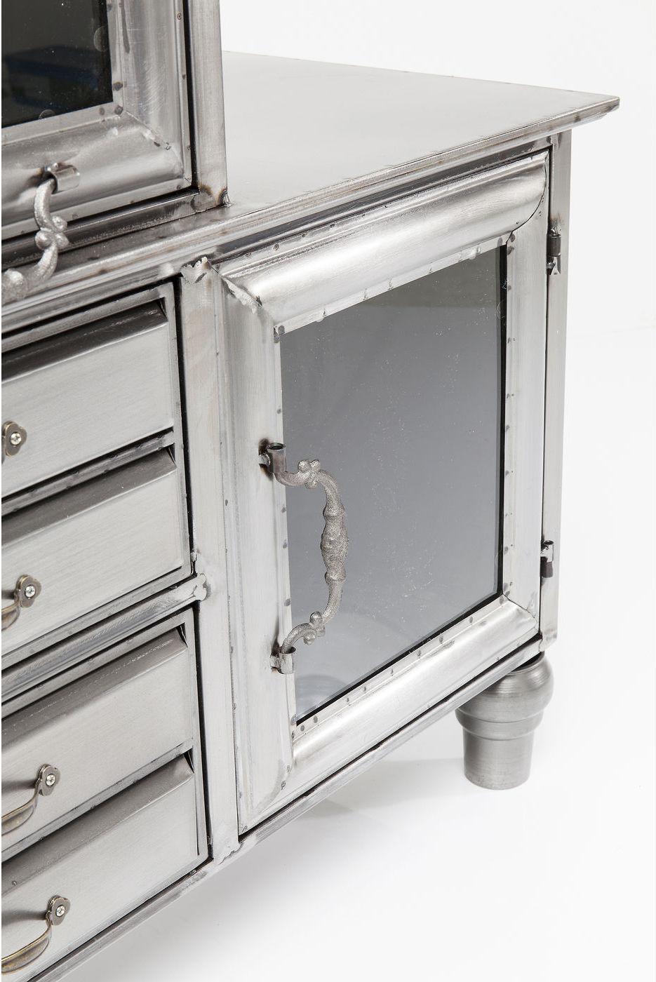 Kare Design Dressoir Thinktank - Metaal - 105 X 100 X 36 Cm