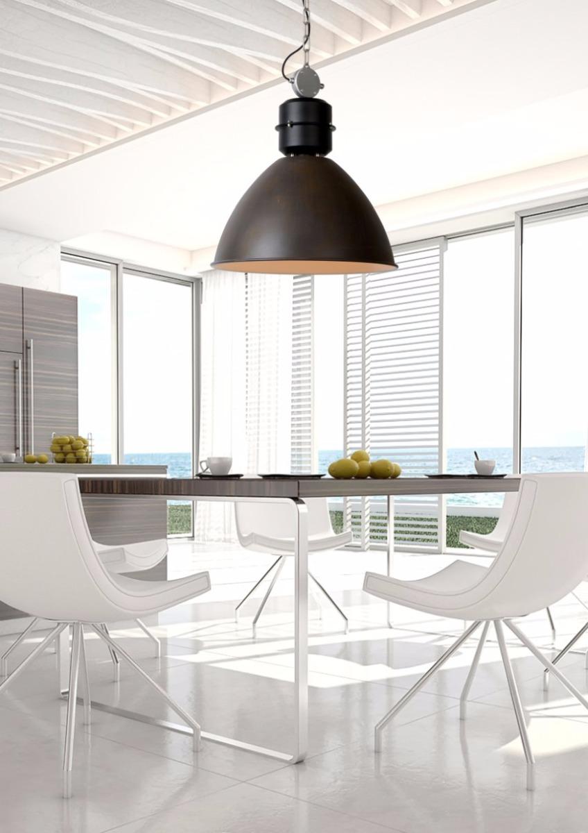 Lucide Verstelbare Hanglamp Garris 1-LichtsØ50 X H60 Cm - Metaal Roest Bruin