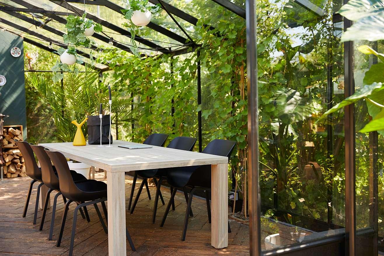 Hartman Sophie Organic Element Tuinstoel - Set Van 2 - Donkergrijs NU Met Gratis Zitkussens Twv.? 44,00