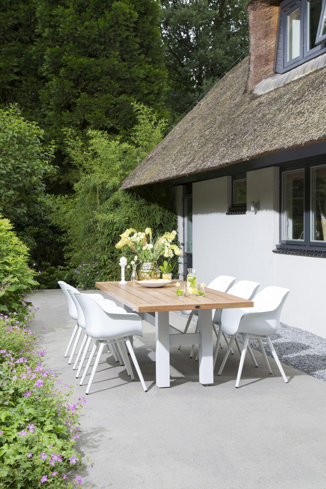 2 Hartman Tuinstoelen.Hartman Sophie Studio Dining Tuinstoel Armleuning Set Van 2 Wit
