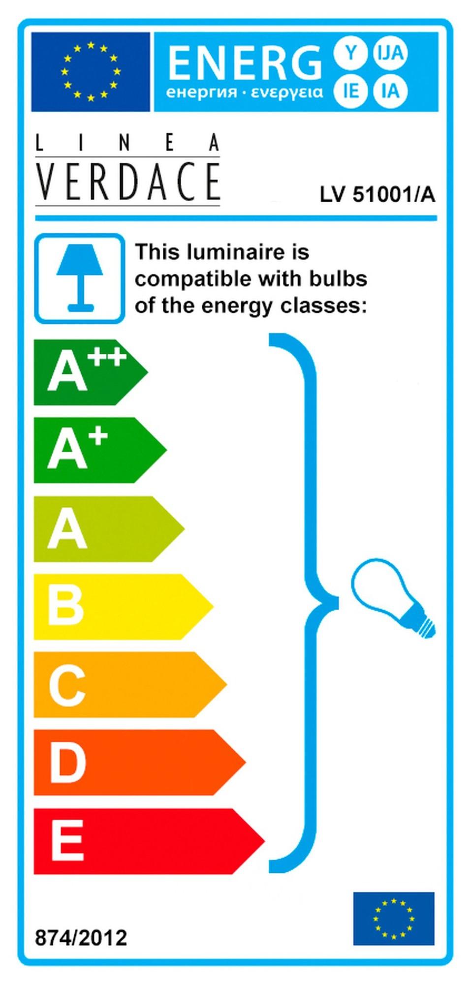 Linea Verdace Hanglamp Tormenta - B55 Cm - Aluminium
