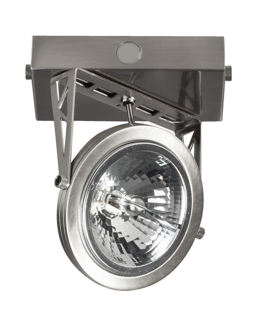 ETH Plafondspot Lofar 1-Lichts - RVS - Staal