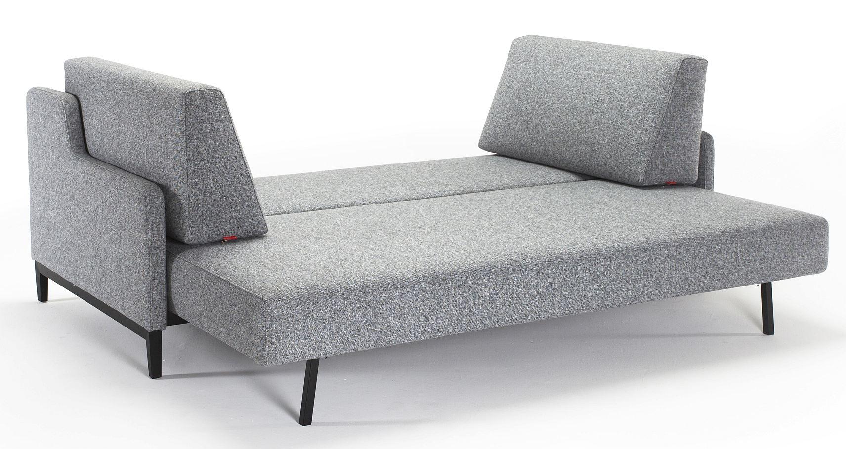 Innovation Slaapbank Hermod - Twist Granite 565