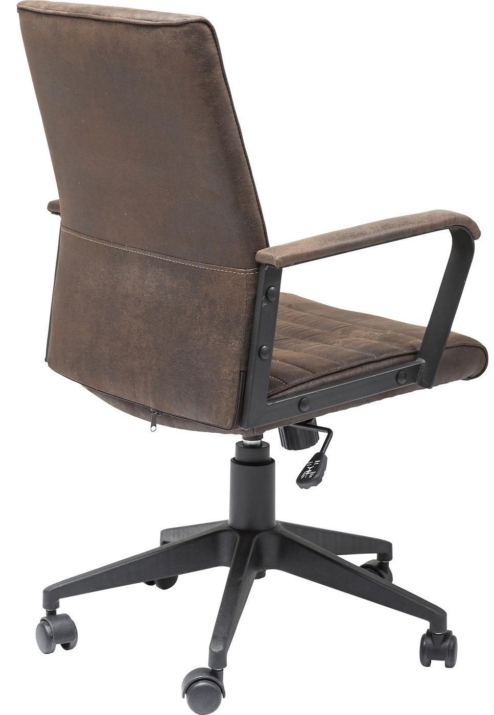 Kare Design Bureaustoel Labora Brown - Bruin