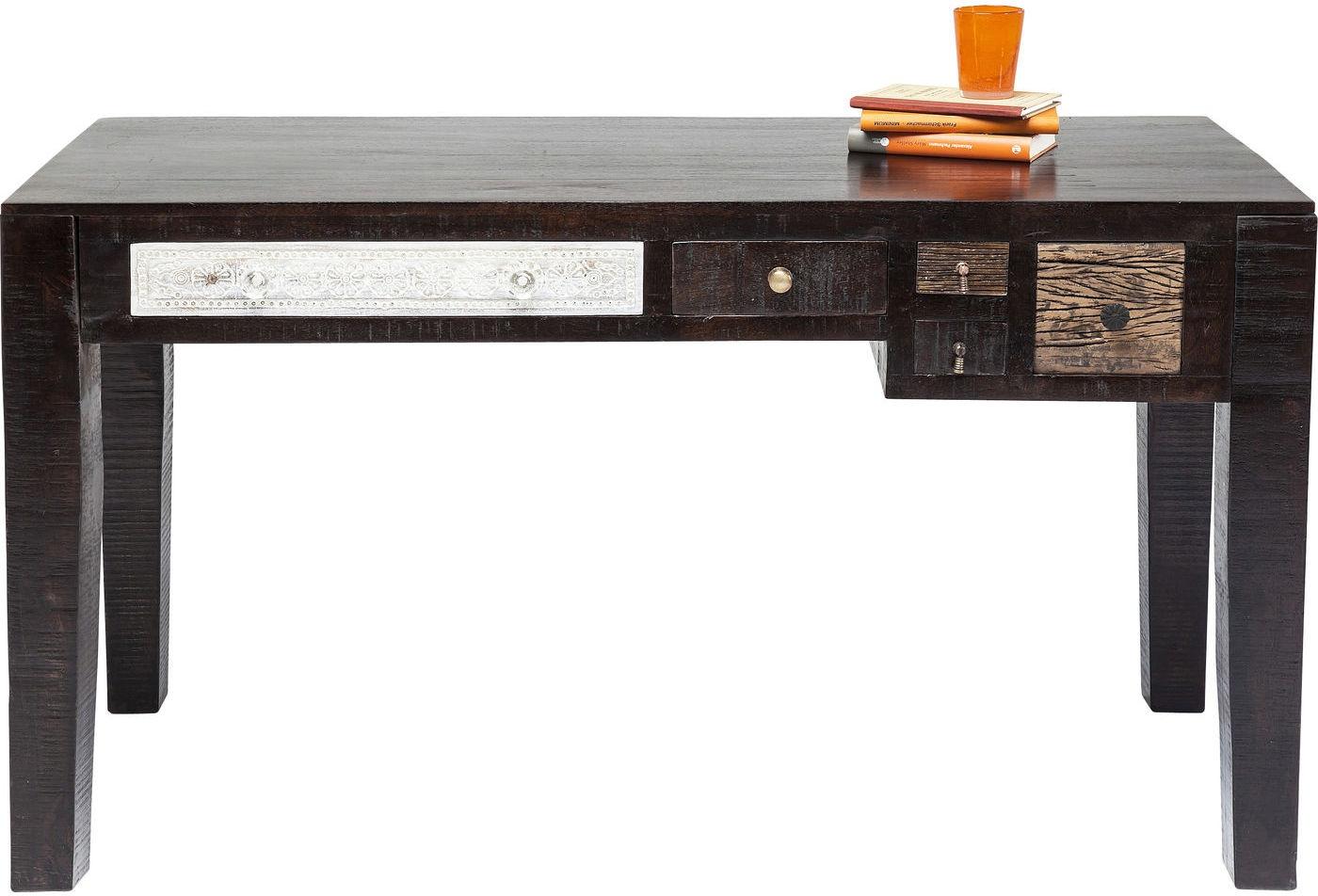 Kare Design Bureau Finca - L135 X B60 X H78 Cm - Mangohout