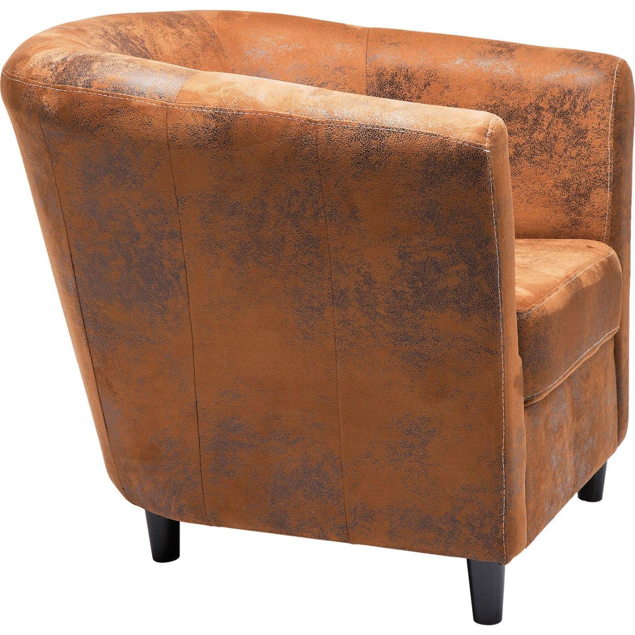 Kare Design Fauteuil Africano Vintage Eco - Bruin