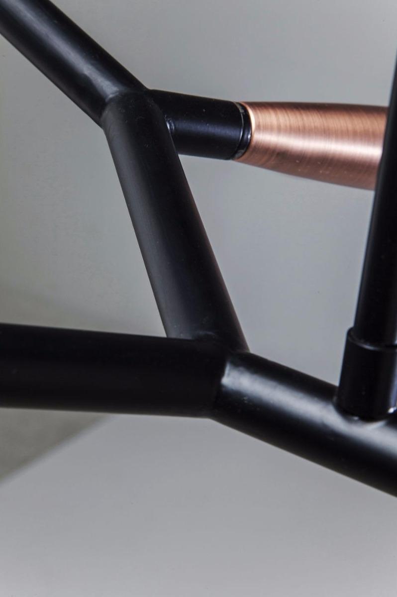 Kare Design Hanglamp Monte Carlo Sette - 7 Lichts - Zwart