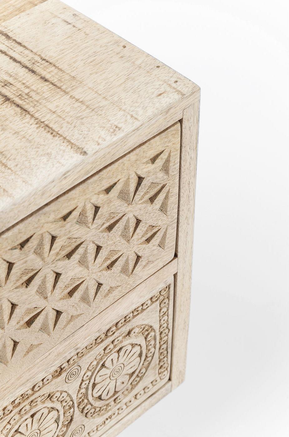 Kare Design Ladekast Puro - 2 Laden - L50 X B35 X H46 Cm - Mangohout