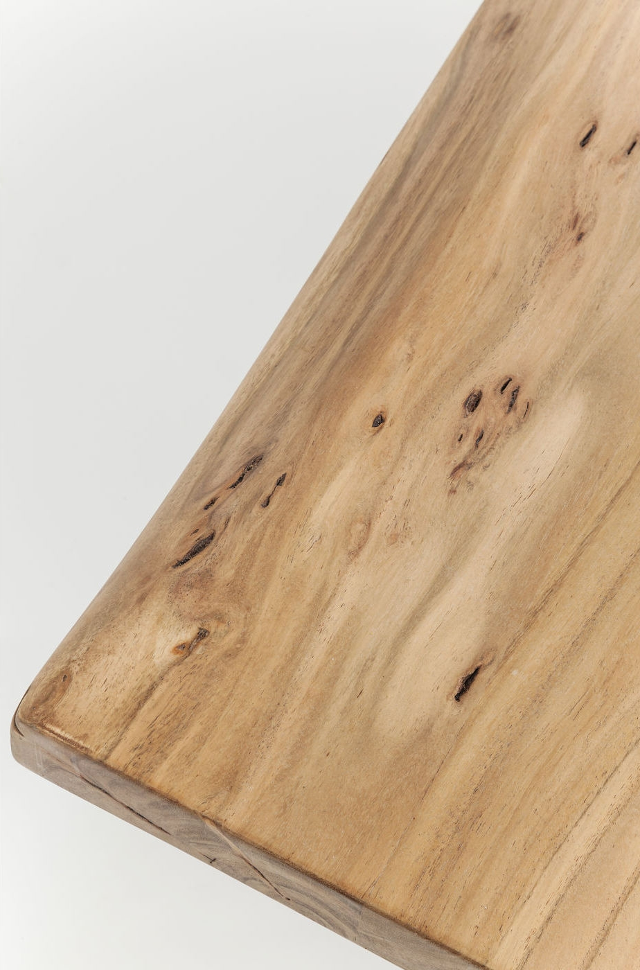 Kare Design SALE - Eettafelbank Pure Nature - L140 X H45 Cm - Metaal - Acacia Hout