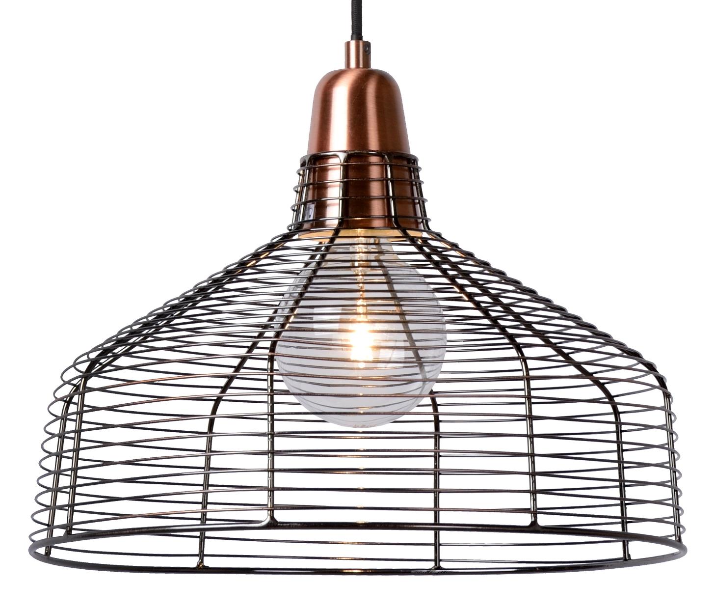 Lucide Hanglamp Moino -Ø35 Cm - Koper Kleur