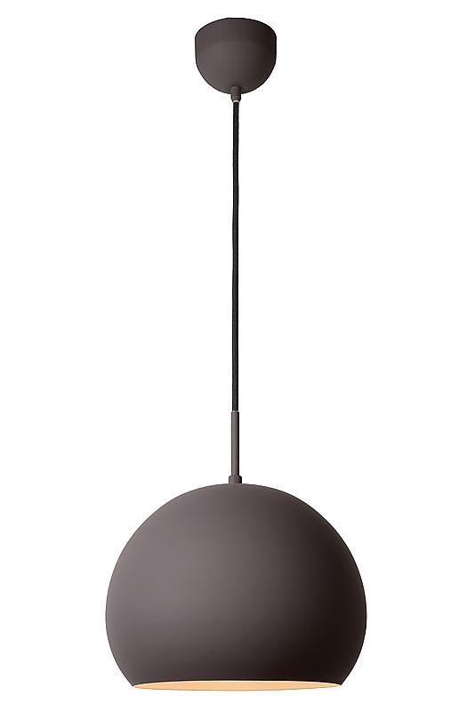 Lucide Hanglamp Bobo -Ø28 Cm - LED - Grijs