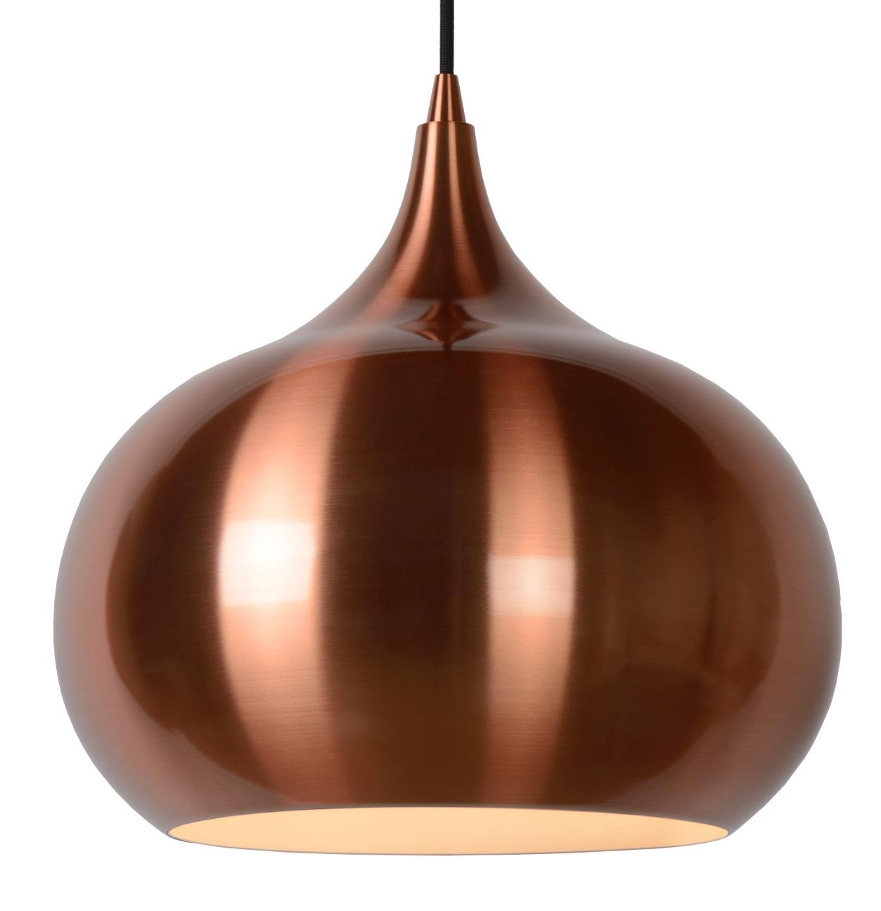 Lucide Hanglamp Riva -Ø33 Cm - Koper