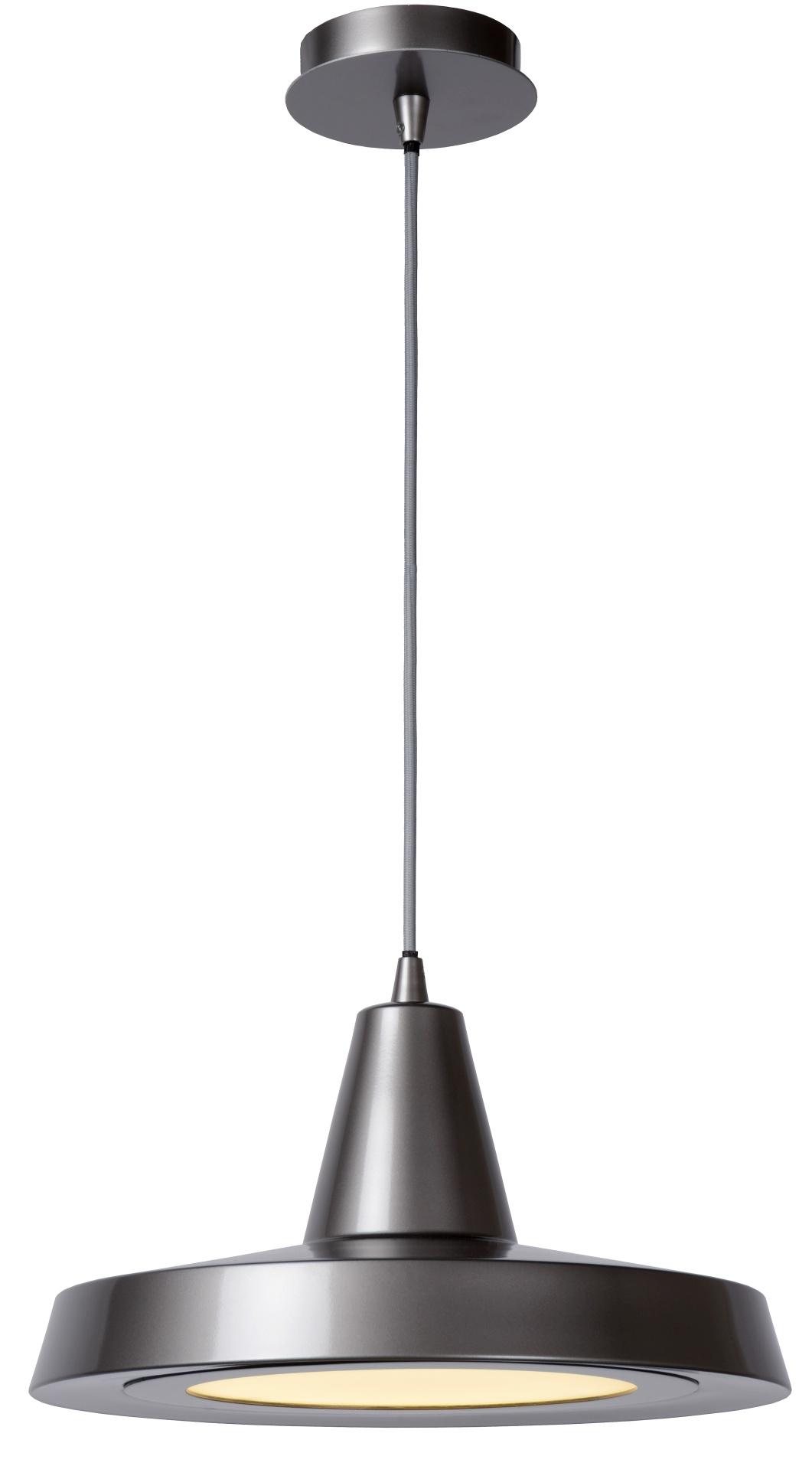Lucide Hanglamp Solo -Ø33 Cm - H17 Cm - LED - Grijs