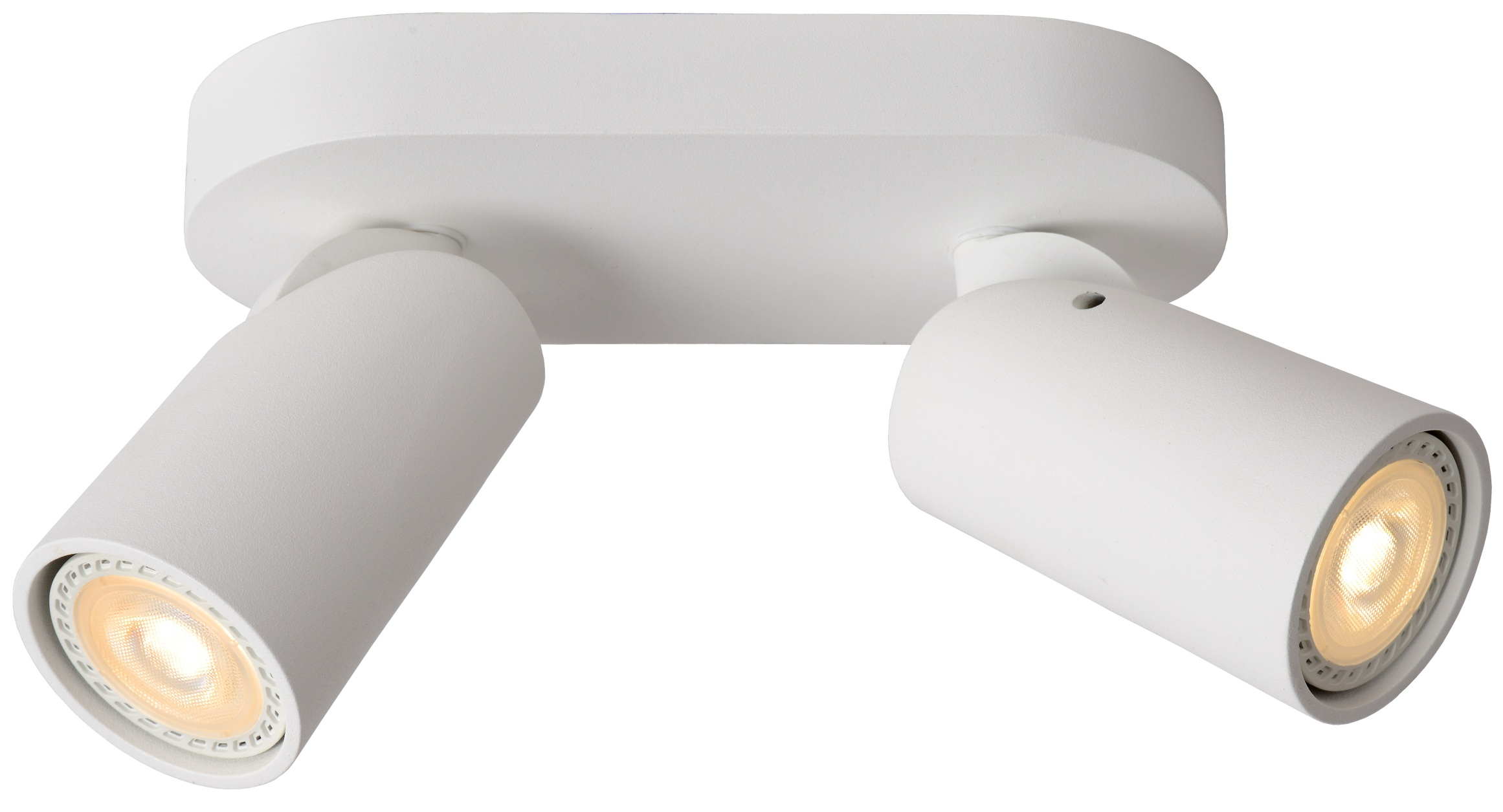 Lucide Plafondspot Xyrus 2 Lichts - Dimbare LED - Wit