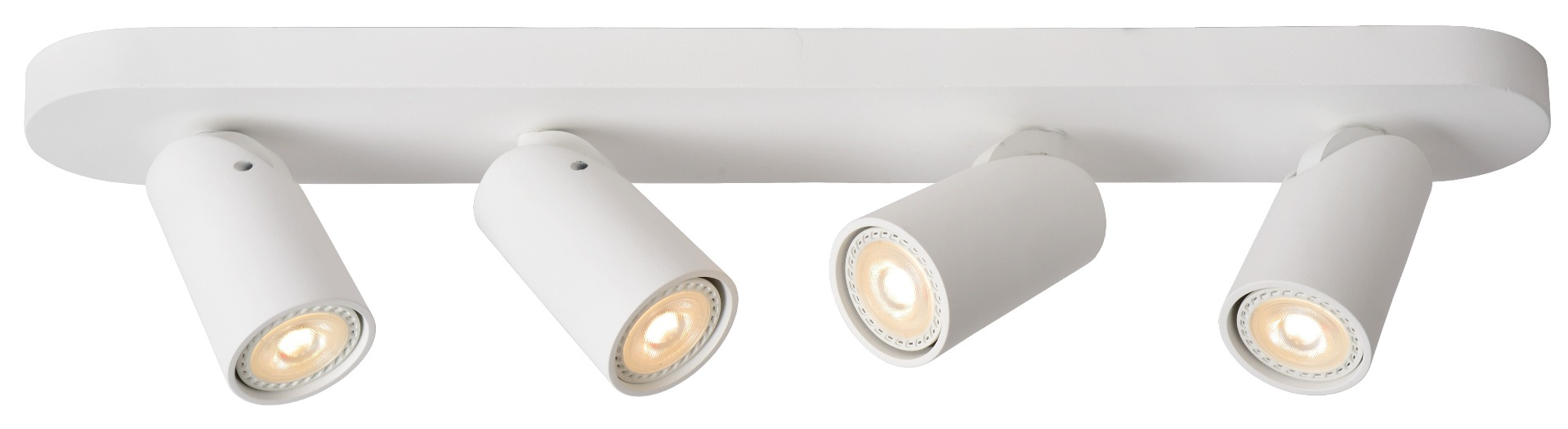 Lucide SALE - Plafondspot Xyrus 4 Lichts - Dimbare LED - Wit