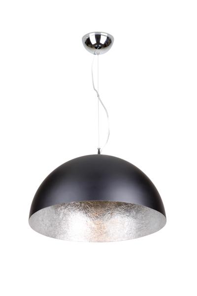 Linea Verdace Hanglamp CupulaØ70 Cm Mat Zwart - Zilver