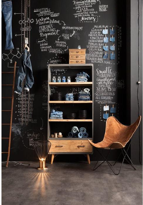 kare design boekenkast x factory 200 x 90 x 30 cm