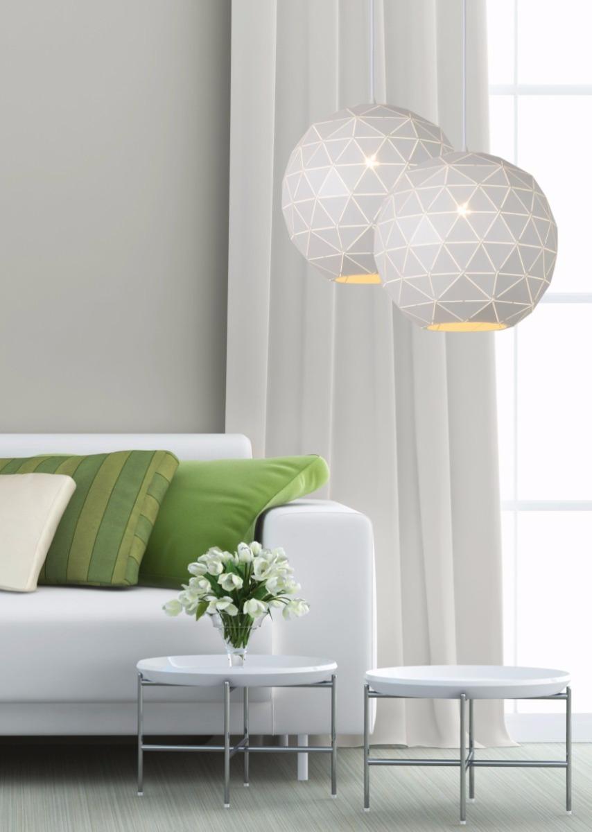 Lucide Verstelbare Hanglamp Otona 1-LichtsØ40 X H36 Cm - Metaal Wit