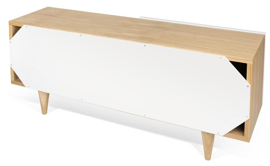 Temahome sale tv meubel cruz 120x34x50 eiken mat for Meubel sale