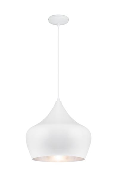 Linea Verdace Hanglamp TipiØ38 Cm Mat Wit - Zilver