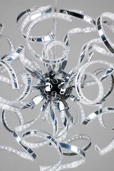 Linea Verdace Hanglamp Volupta LED Cool White - Chroom