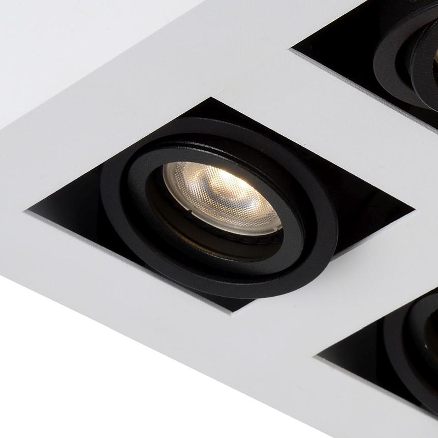 Lucide Plafondspot Xirax GU10 4-Lichts Dimbaar - Wit