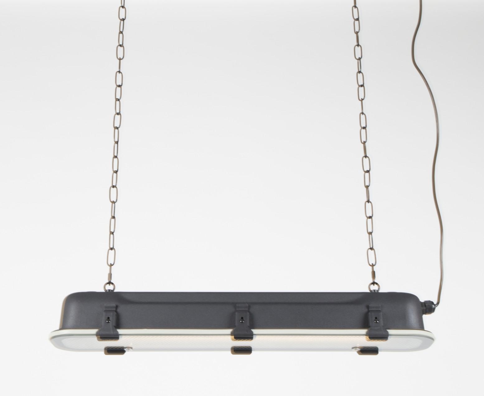 Zuiver Hanglamp G.T.A.- L70 X B14 X H10 Cm - Zwart