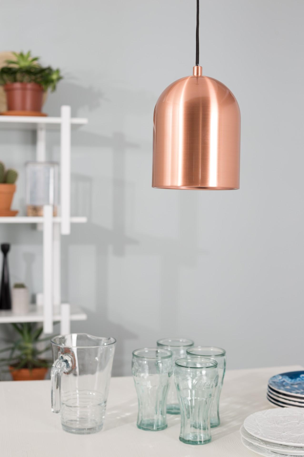 Zuiver Hanglamp Marvel -Ø15 X H21 Cm - Koper