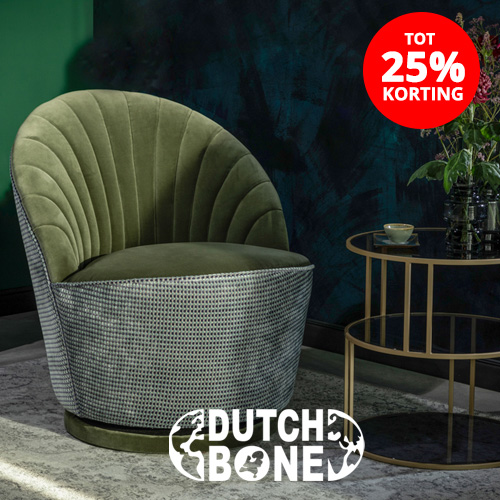 TOT 25% korting op Dutchbone